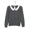 maje-gray-wool-sweater-with-white-collar-profile