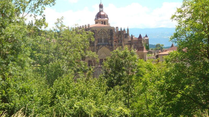 St Antoine l'Abbaye dans L'Isère.