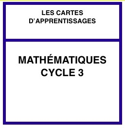 Les cartes en maths par niveau (C3) suite