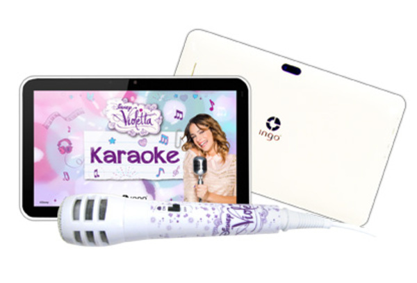 Application Violetta pour tablette tactile