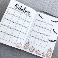 Bullet journal October