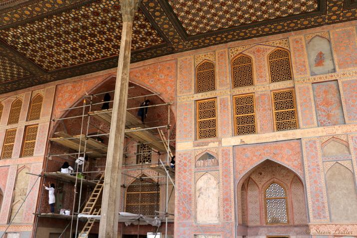 Le Palais d'Ali Qapu