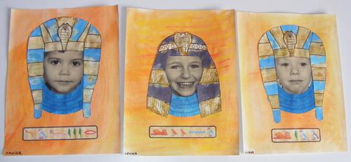 Nos oeuvres sur le thème de l'Egypte