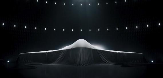 Publicité de Northrop Grumman pour son futur bombardier (Northrop Grumman)
