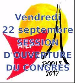 Salutations de Mme Marlène SCHIAPPA Secrétaire d'Etat au 7ème Congrès mondial de l'AILP