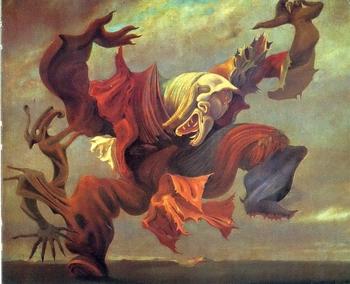 Max Ernst, L'ange du foyer