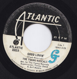 Young Rascals : Good Lovin' (1966)