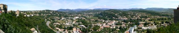 Un clic pour agrandir la vue panoramique
