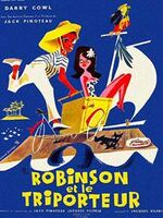 ROBINSON ET LE TRIPORTEUR : Pour impressionner la belle Popeline, dont il est éperdument amoureux, Antoine décide de faire un tour du monde en triporteur ! Hélàs, il échoue pendant son périple et il accoste avec son fidèle compagnon Mercredi sur une île déserte. Un jour, il voit débarquer Popeline, comme par miracle ! ...-----... Date de sortie 2 mars 1960 (1h 33min) De Jacques Pinoteau Avec Darry Cowl, Béatrice Altariba Genre Comédie Nationalités Français, Espagnol