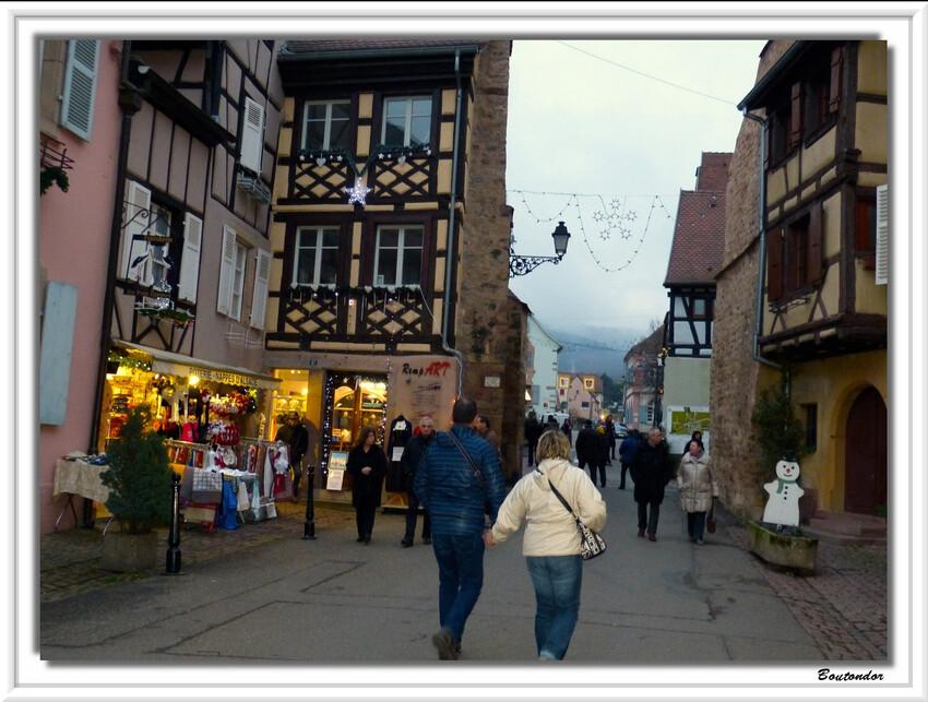 Eguisheim : marché de noel 1