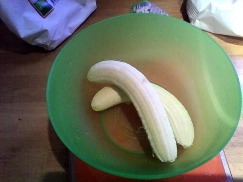 Pancakes à la banane {Vegan}