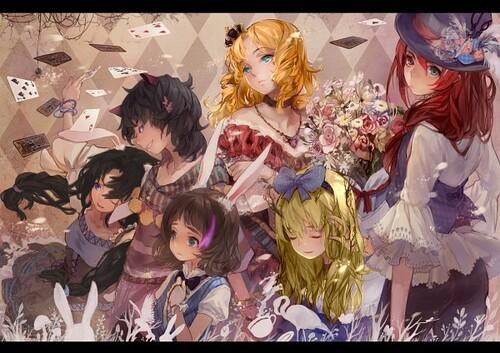 Toutes les filles + Shin In Wonderland