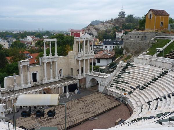 Jour 9 - Plovdiv - Le théâtre 1