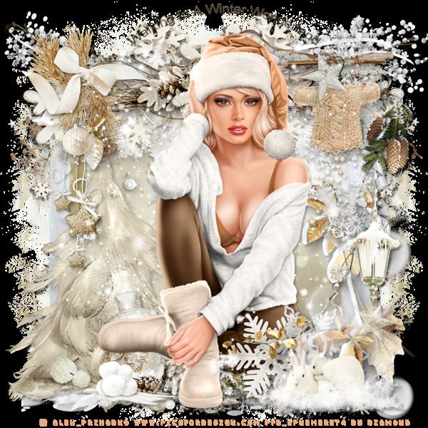 """Tutoriel """"Winter Wonderland"""" de Josie"""