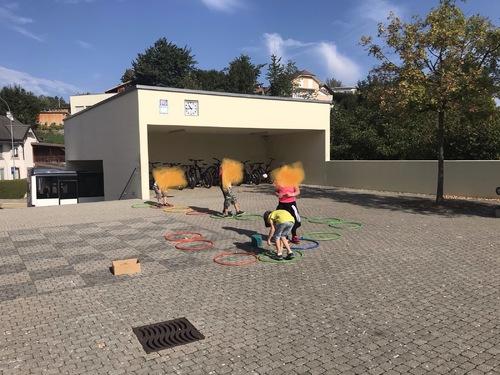Ecole en plein air