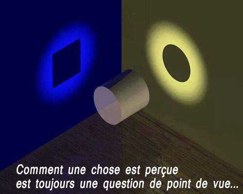 Apparences et illusions : changeons de point de vue.
