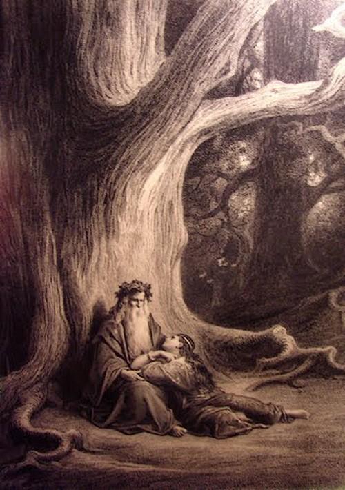 Légende de la forêt de Brocéliande : La fée Viviane