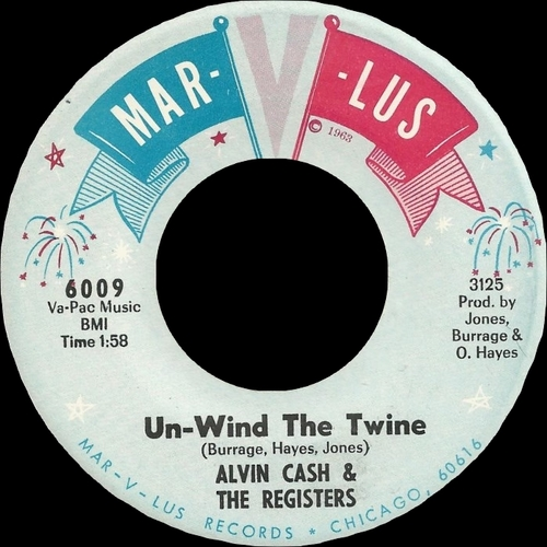 1965 : Single SP Mar-V-Lus Records 6009 [ US ]