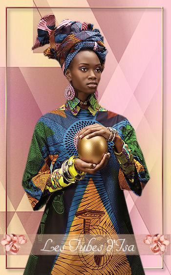 AF0020 - Tube femme africaine