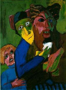 Excited People - Emil Nolde