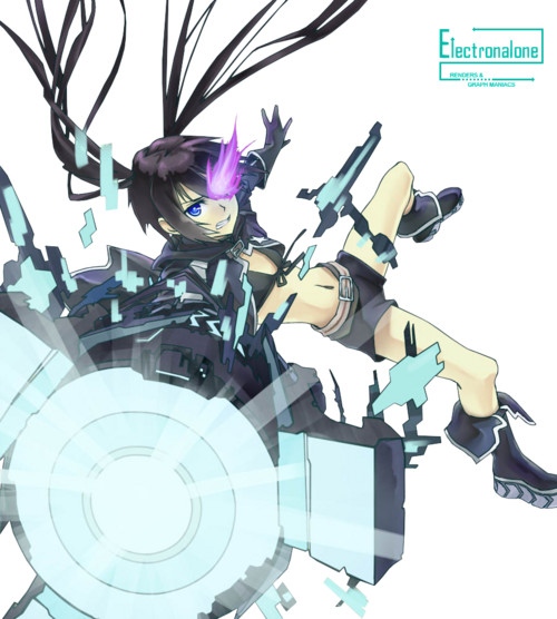 Renders : Black Rock Shooter