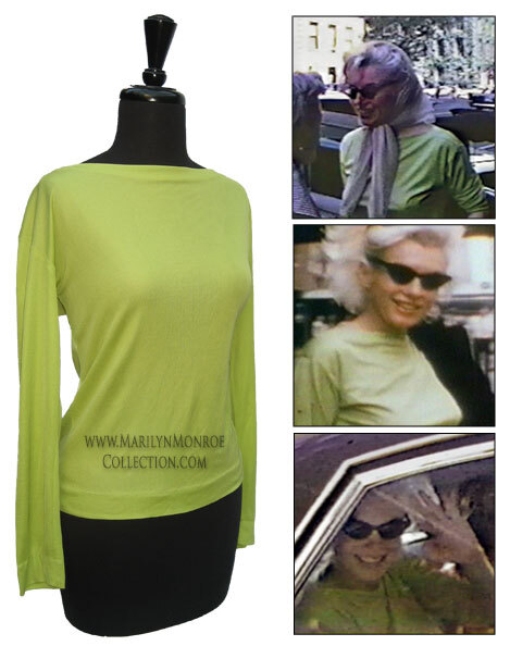 Marilyn Monroe Green Emilio Pucci Dress Marilyn Monroe Pucci Blouse