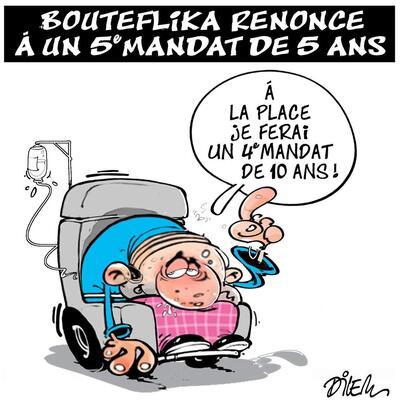 Le doute des algériens face à la ruse de Bouteflika et des islamistes.