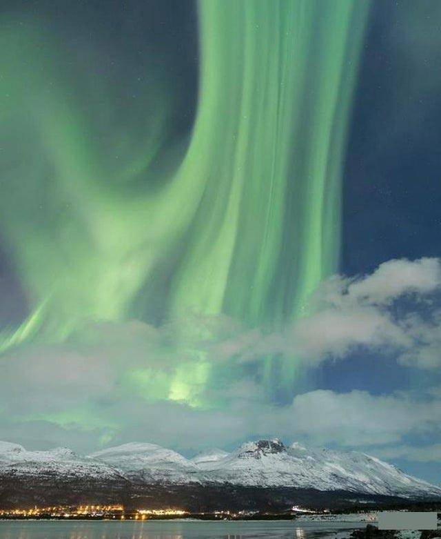 Incredible Northern Lights over Norway