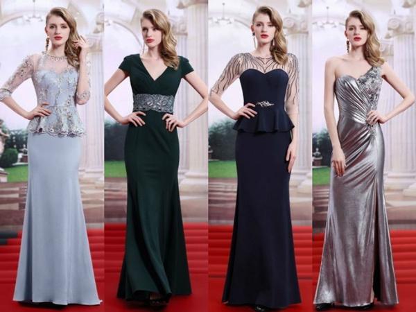 les robes de soirée longues élégantes