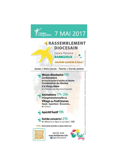 Rassemblement diocésain du 7 mai 2017
