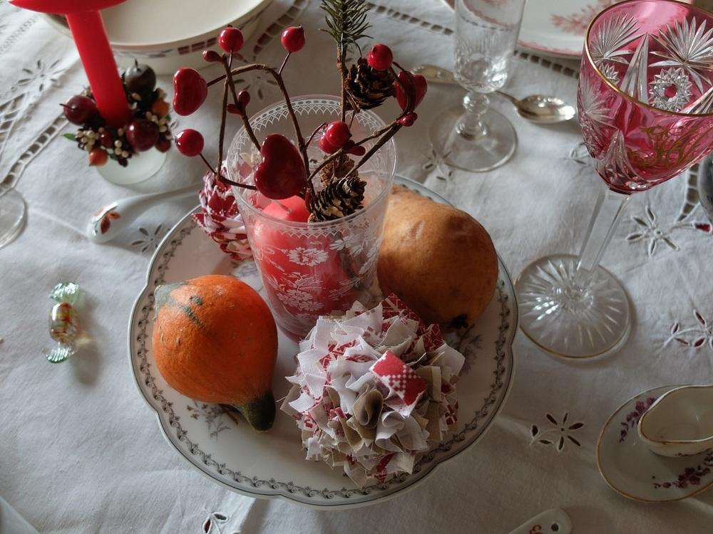 Quelques petites décorations de Noël.