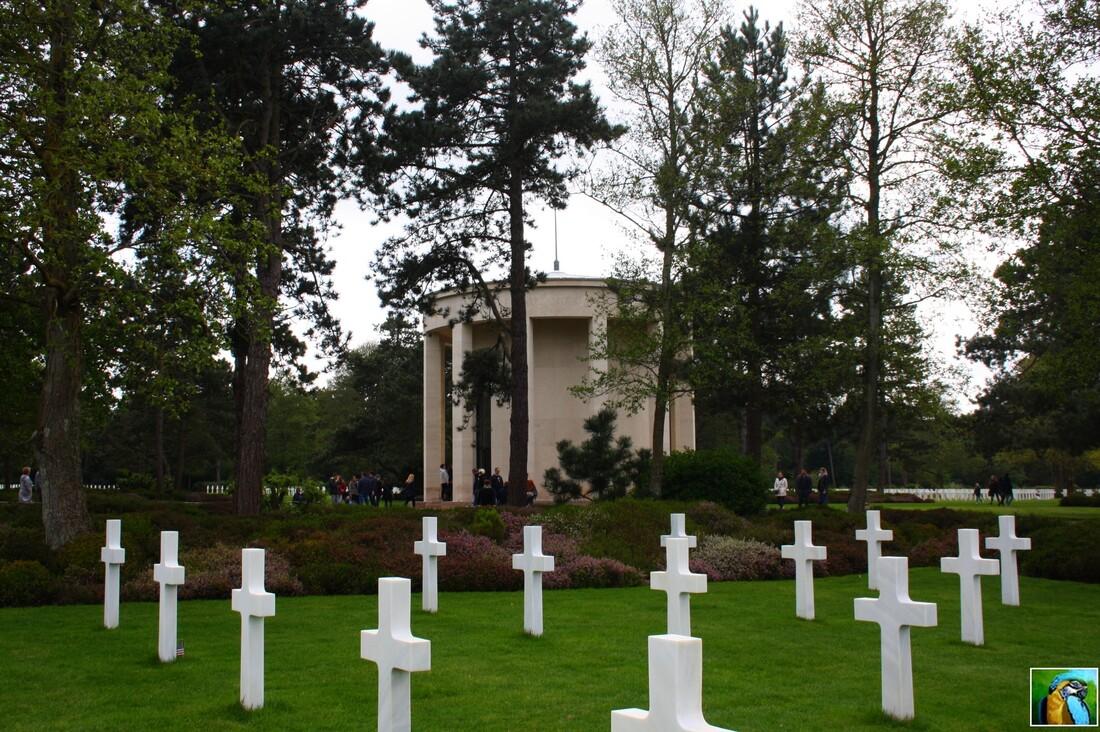 NORMANDIE mai 2017: Cimetière de Colleville