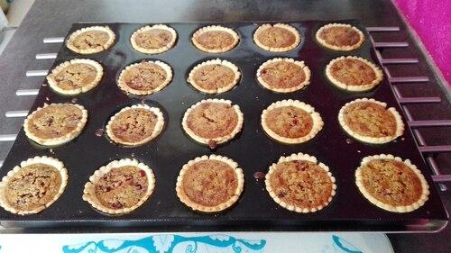 Mini tartelettes choco-coco-framboises