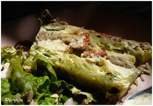 Terrine de légumes d'été