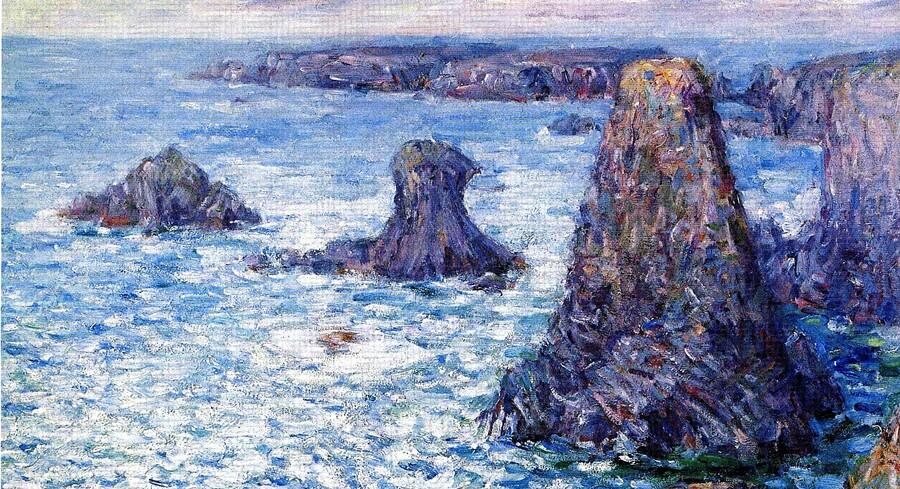 belle-île 2 /  La pointe des Poulains