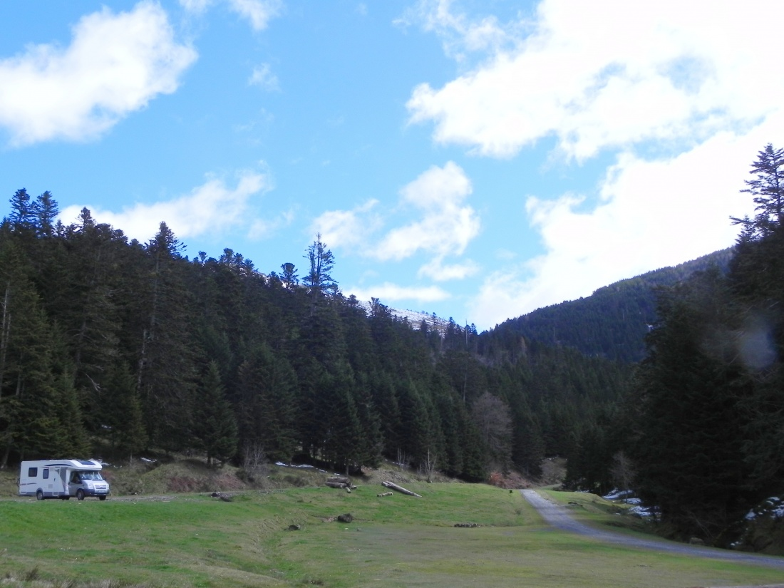 Le Lac de Payolle-Campan  dans les Pyrénnées