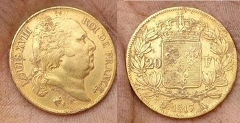 Monnaie en OR Louis XVIII  avers.revers.jpg  b