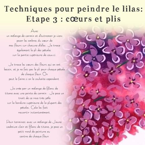 Dessin et peinture - vidéo 3530 : Comment peindre des lilas ? - gouache.
