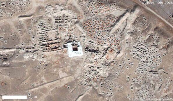 Les destructions en Syrie : le site de Mari