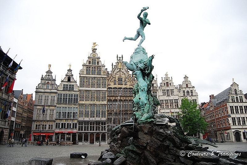 Anvers, grand place