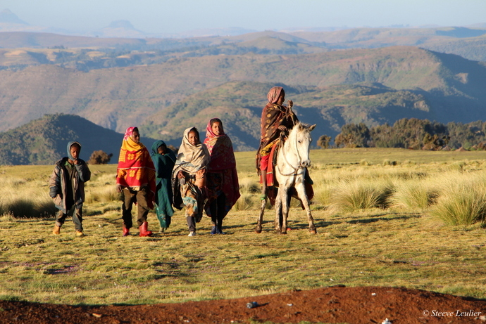 Trek dans la massif du Simien, Ethiopie (nov. 2015)