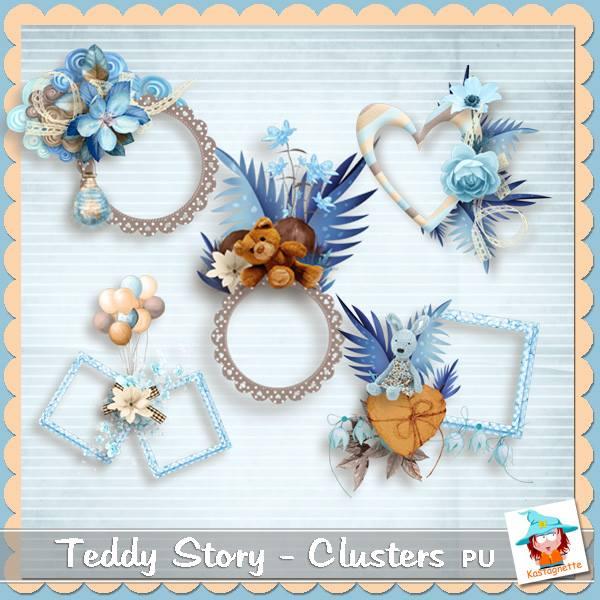 Teddy story de Kastagnette