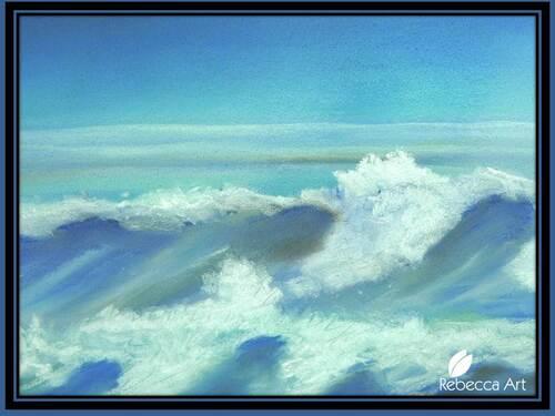 Waves breaking / Vagues qui se brisent
