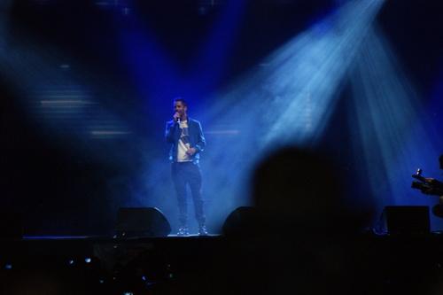Près de 8 000 personnes au concert...