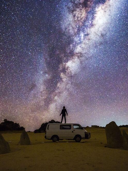 Road trip et des paysages de rêve