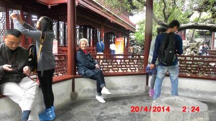 SHANGHAI  EN JOURNEE A PIEDS ET EN BUS 2 ETAGES