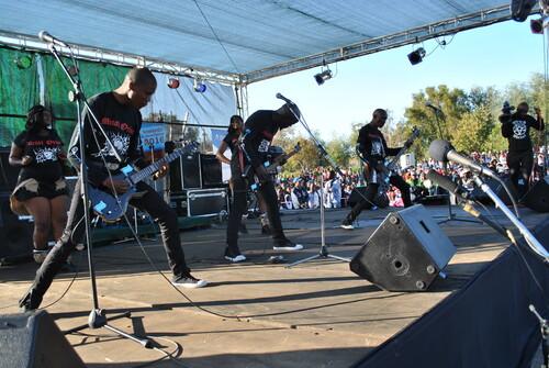 Metal Orizon on stage