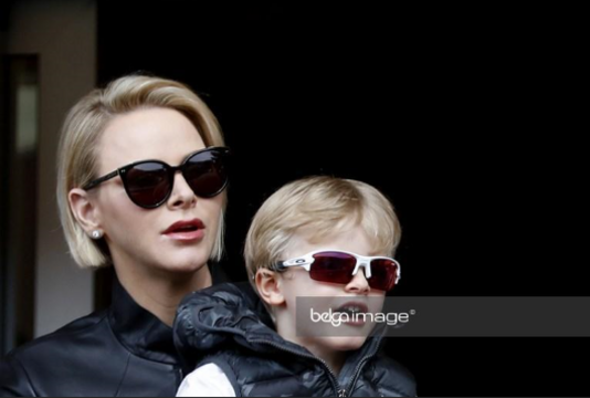 other photos of Albert, Charlene, Jacques and Gabriella