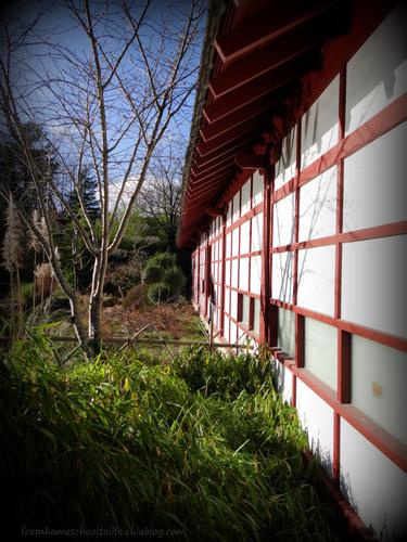 Profondeur. Maison japonaise