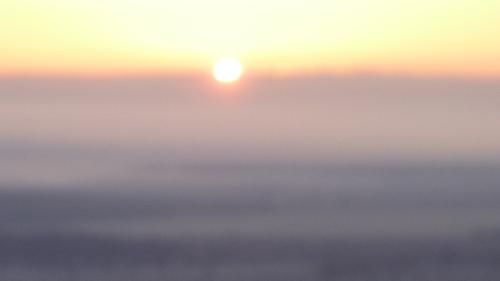 """""""Voir le soleil se lever à l'Est"""" - Mardi 20 mars 2018."""